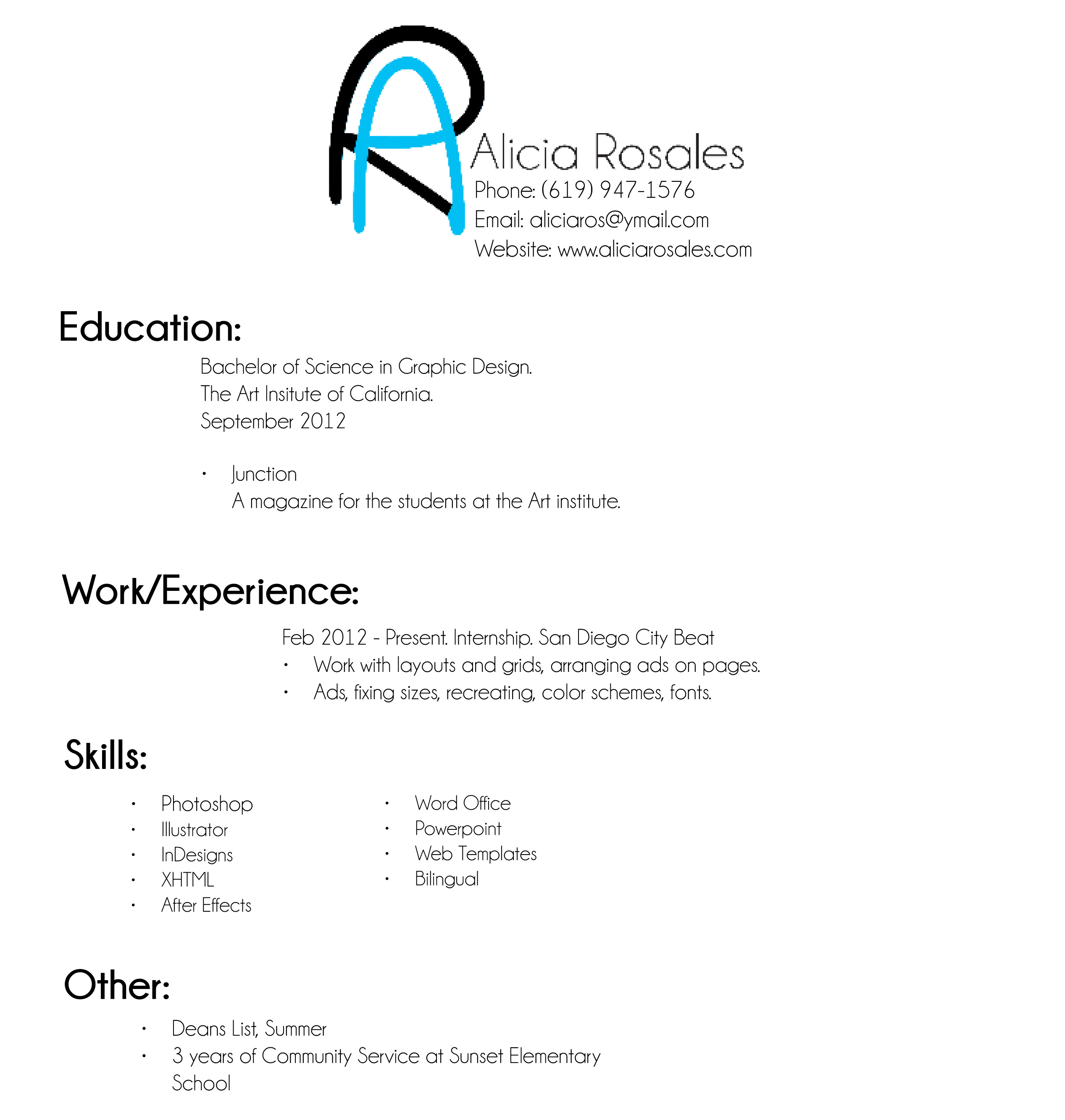 Beautiful PARA CV EN ESPANOL Pertaining To Resume En Espanol